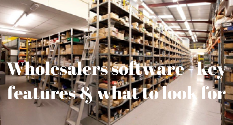 Wholesalers Software Solution